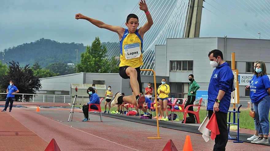 El atletismo gallego se va de fiesta