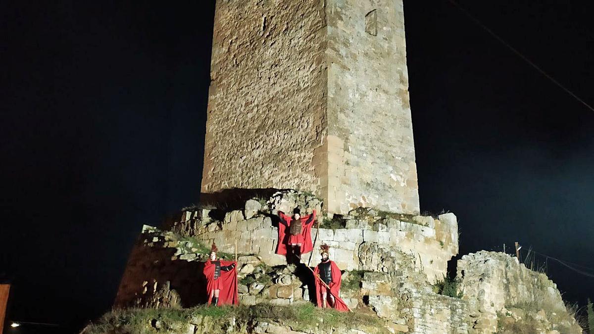 L'objectiu és que la torre estigui disponible per a la celebració del pessebre vivent | ARXIU/ARNAU VALVERDE