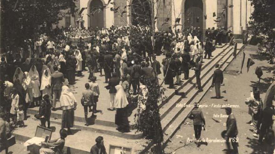 Valleseco homenajea a su santo patrón