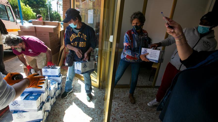 La asociación de vecinos de Colonia Requena repartirá alimentos a la Zona Norte desde San Blas