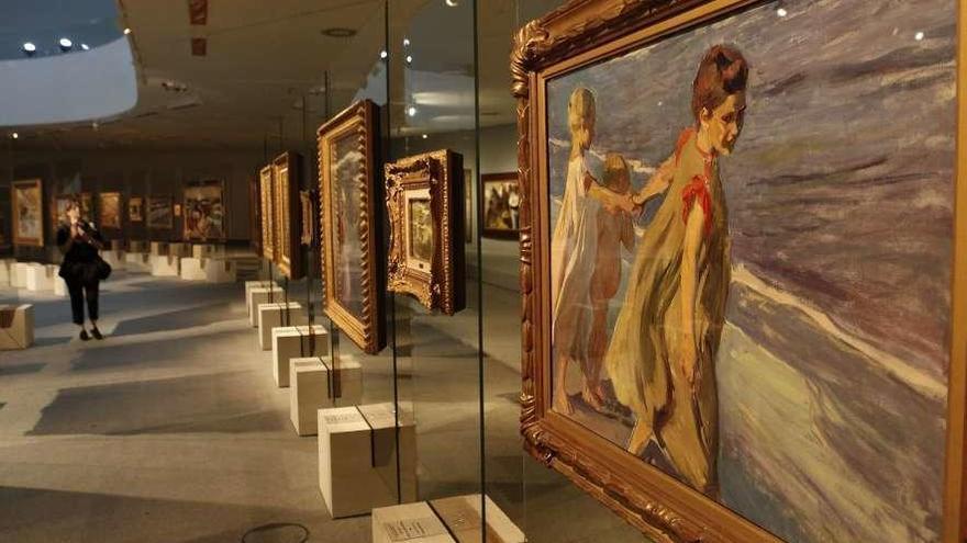 La obra de Sorolla pulveriza el récord de visitantes a exposiciones del Niemeyer