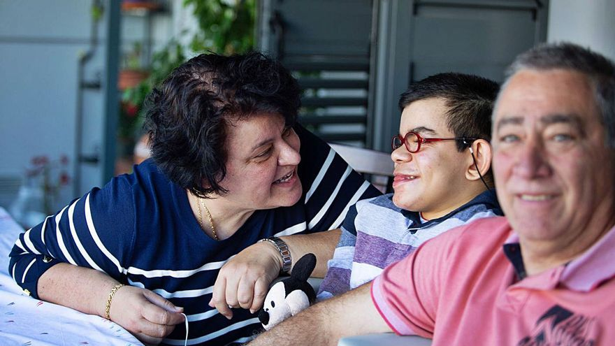 La familia de un discapacitado pide que se quede en el aula Ueeco dos cursos más