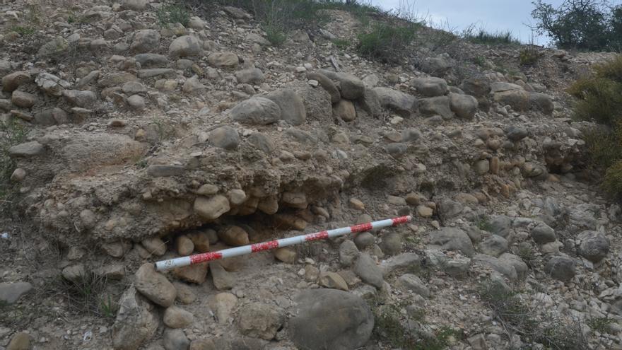 Descubren un acueducto que suministraba agua potable a Allon, la ciudad romana de la Vila Joiosa