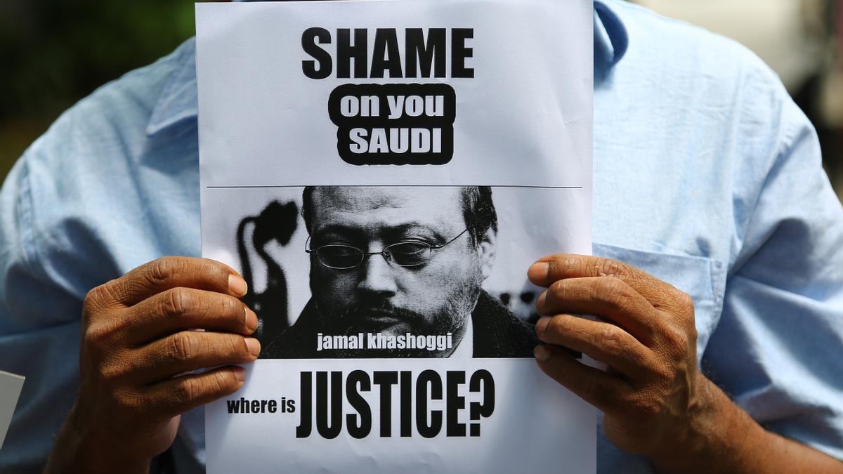 Manifestaciones en protesta tras el asesinato de Khashoggi