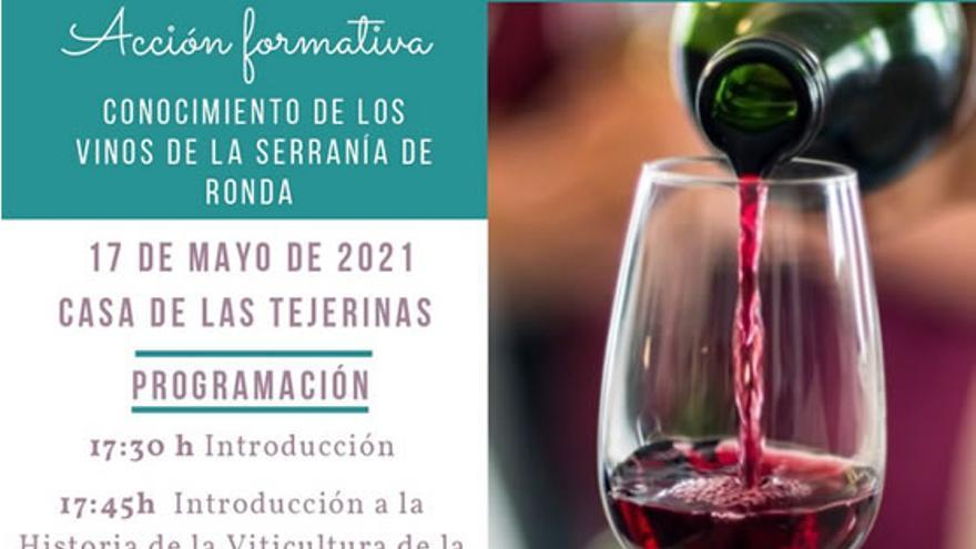 Jornada formativa vinos de la serrania de Ronda