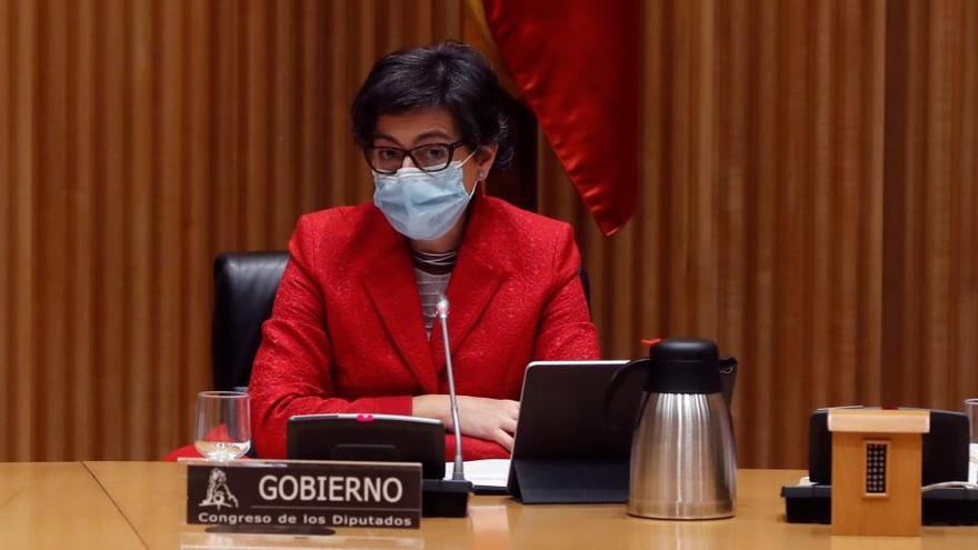 """Laya """"aparca"""" la soberanía en favor de la interdependencia con Gibraltar"""