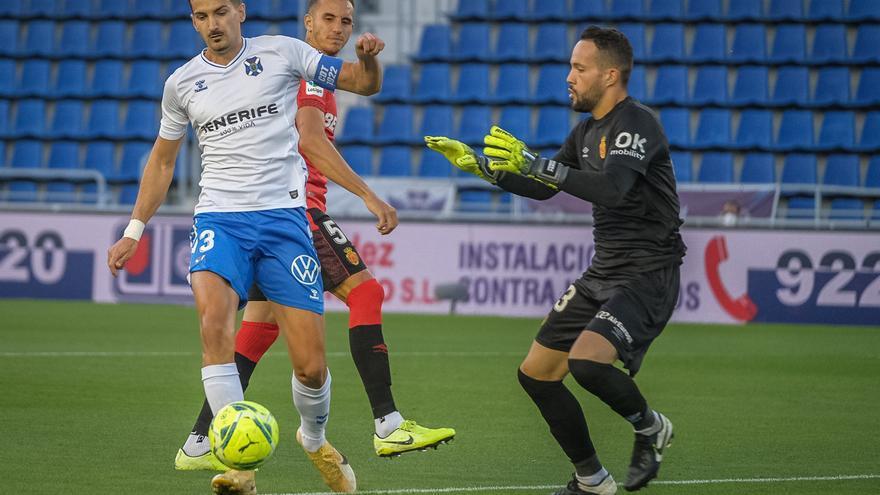 El Tenerife cae ante el Mallorca (0-1)