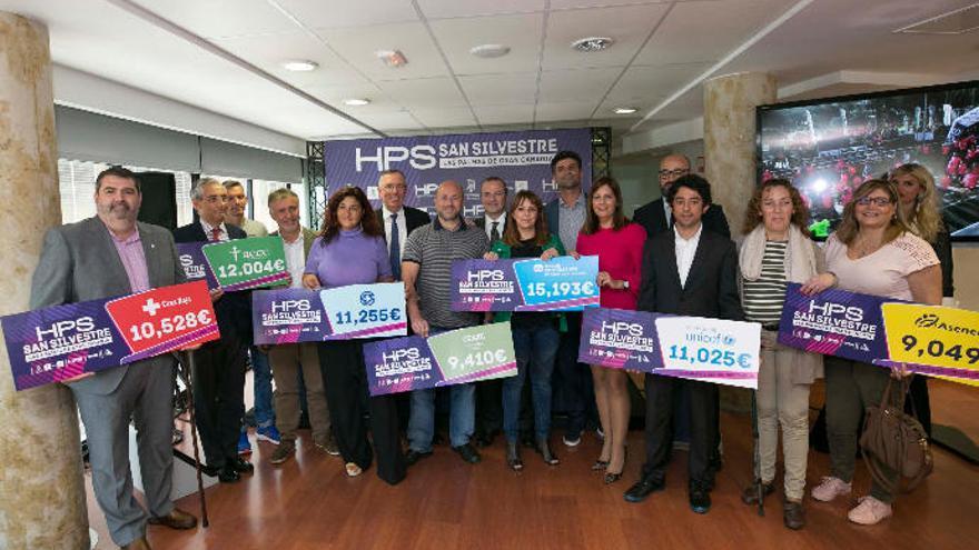 HPS San Silvestre: 78.000 euros de solidaridad