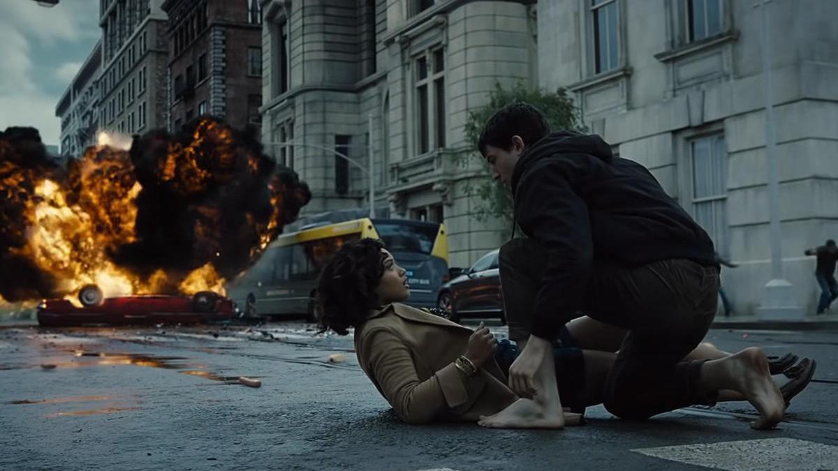 Una escena de 'Liga de la justicia'.