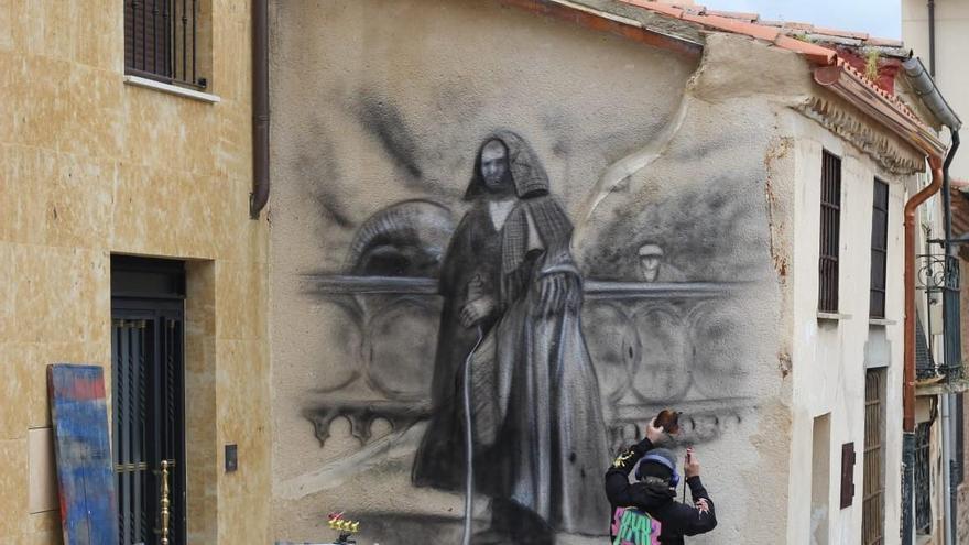 40 grafitis costumbristas adornarán Zamora gracias a una nueva campaña del Ayuntamiento
