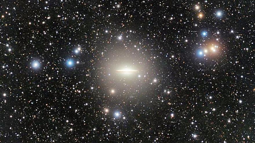El IAC participa en la visión de una corriente de marea en la galaxia del Sombrero