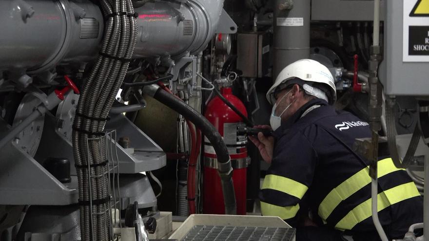La Armada confía a Navantia el mantenimiento de los motores de sus buques