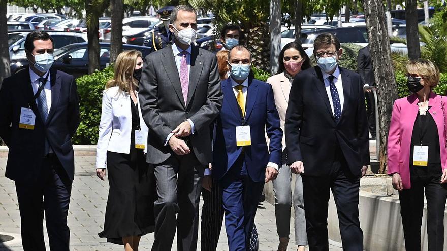 Guiño en 'valencià' del rey Felipe VI