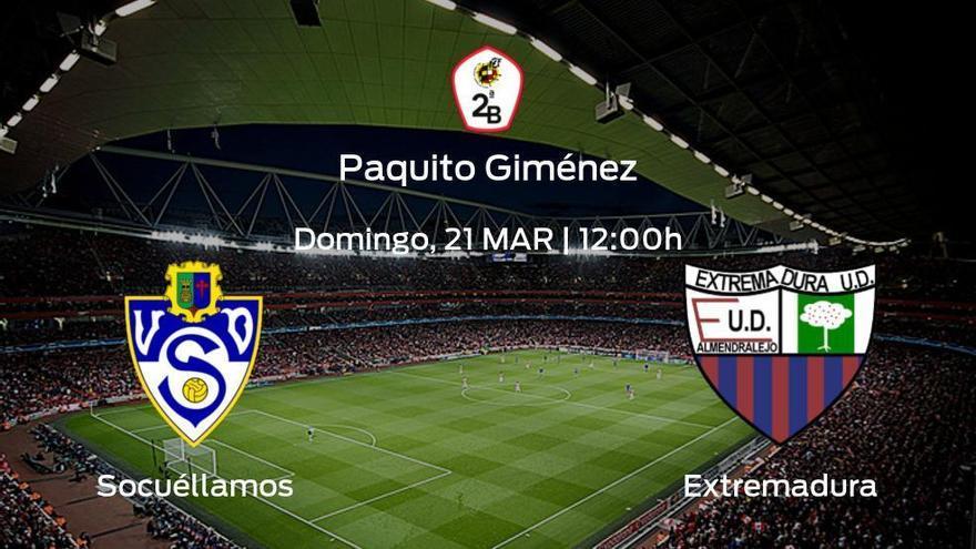 Previa del encuentro: el Socuéllamos recibe al Extremadura UD en la última jornada