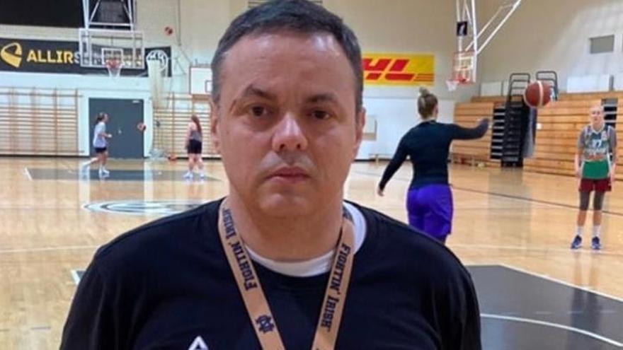 """Fran García: """"Hay que recuperar el nivel anímico y mental de las jugadoras"""""""