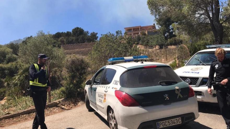Waldbrand zerstört bei Andratx 1,5 Hektar