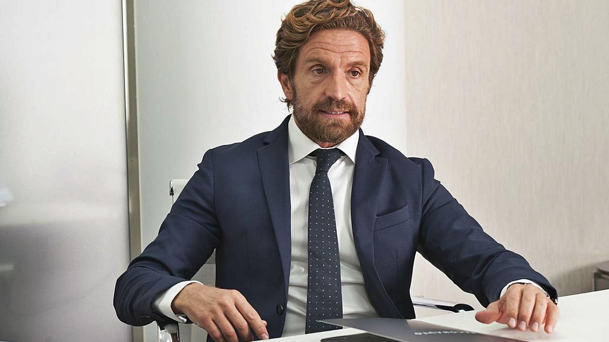 Gerardo Pérez, en su despacho.