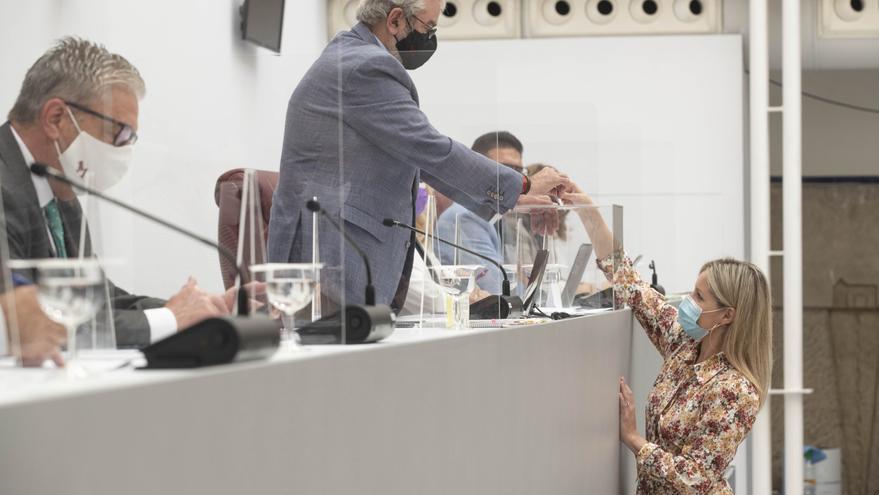 Cs y Podemos tienen hasta el 30 de julio para hacer el reglamento del Grupo Mixto