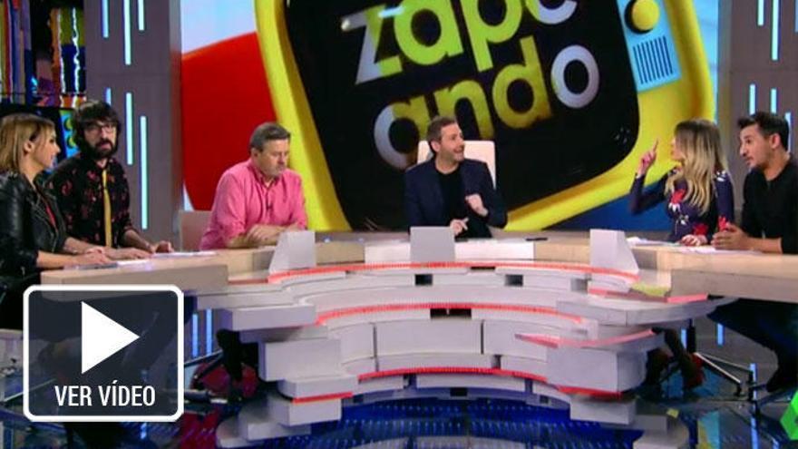 Anna Simon y Chenoa, nueva pelea en 'Zapeando'