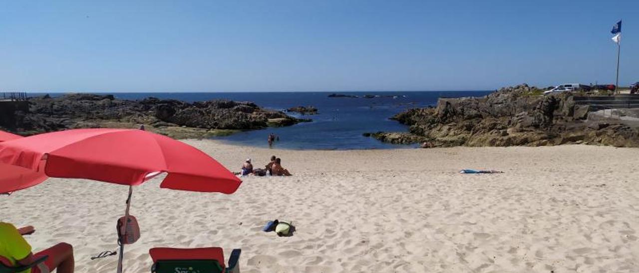 La playa guardesa de Area Grande.