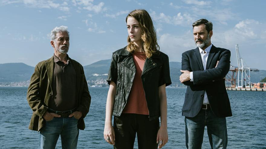 """El Puerto de Vigo acoge este sábado el rodaje de la serie """"Auga Seca"""""""