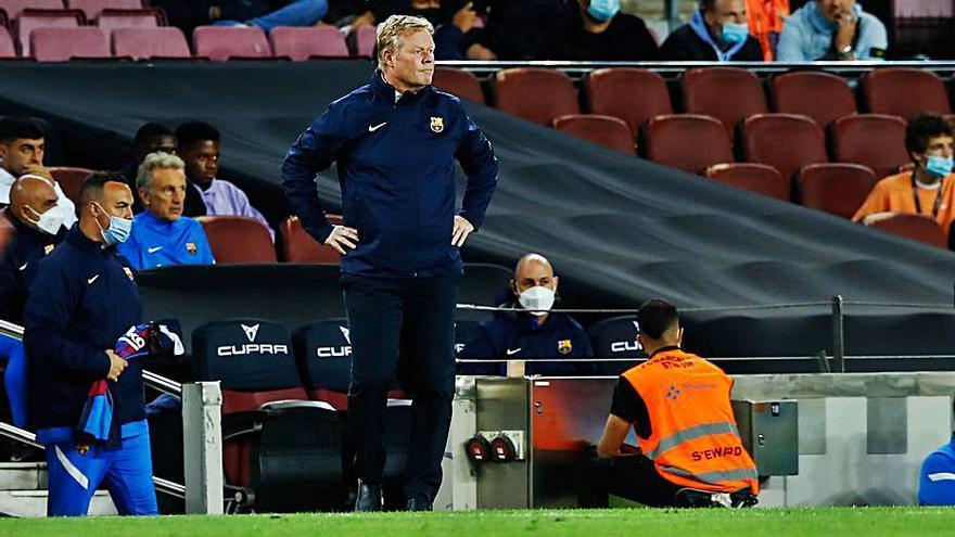 El futur de Ronald Koeman a  la banqueta del Barça s'esgota