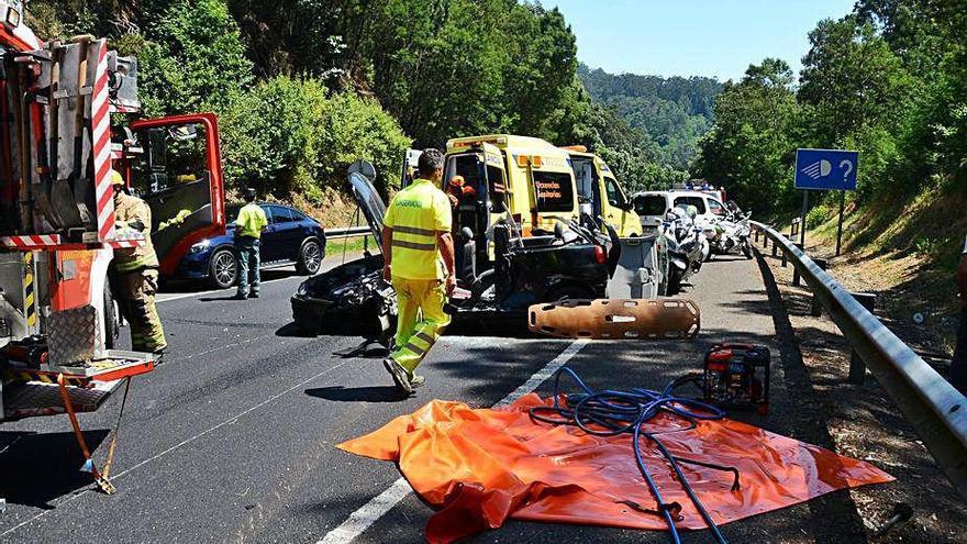 El falso positivo por Covid de un accidentado pone en alerta a los servicios de emergencias