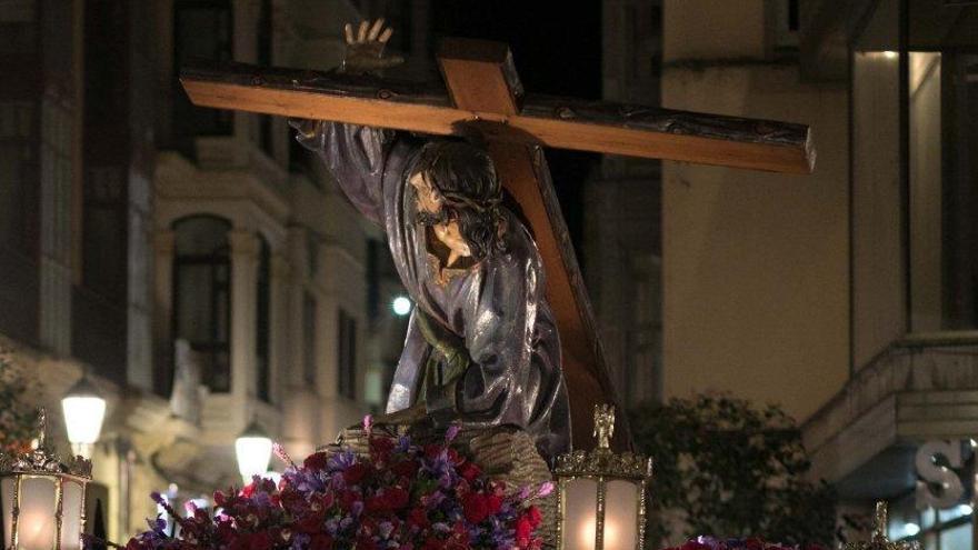 Jesús en su Tercera Caída.