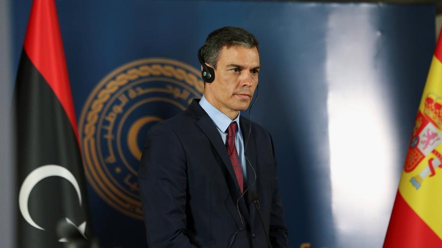 """Sánchez: """"Libia atraviesa un momento histórico y España quiere estar a su lado"""""""