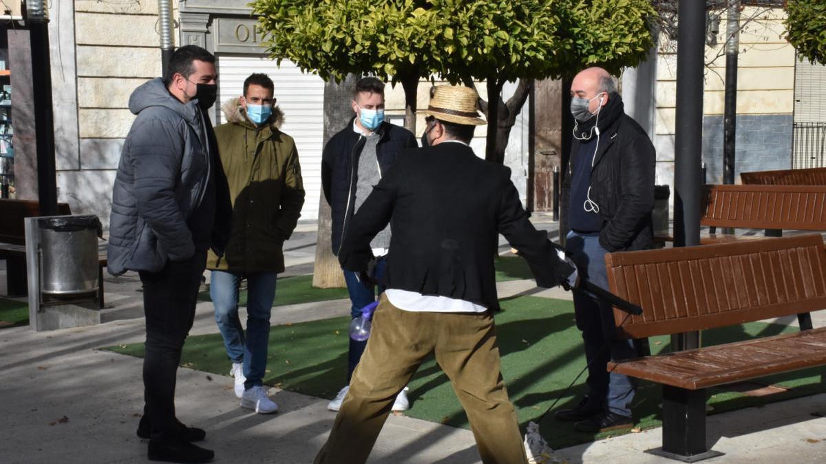 Juan Pelotero y los Inocentes regresan a Calasparra