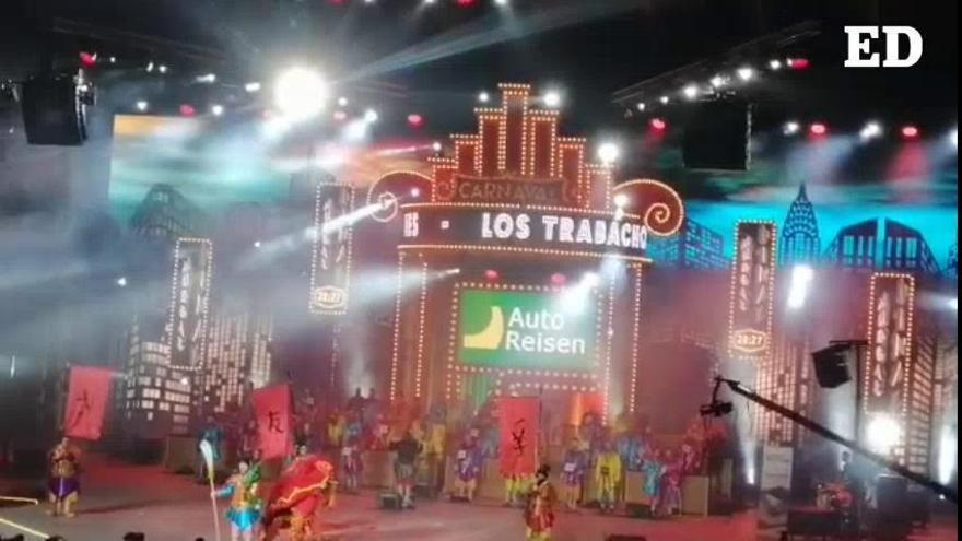 Trabachones: presentación | Final del Concurso de Murgas Adultas del Carnaval de Santa Cruz 2020