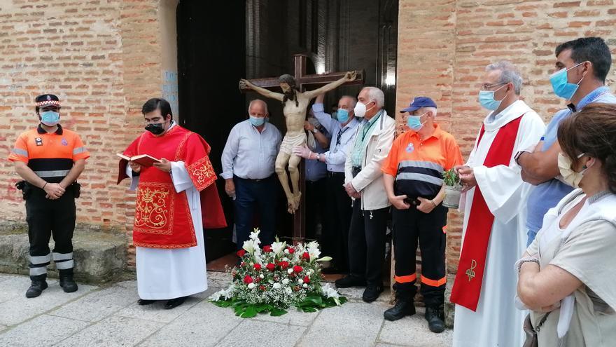 Toro honra al Cristo de las Batallas con misas en la ermita, pero sin procesión