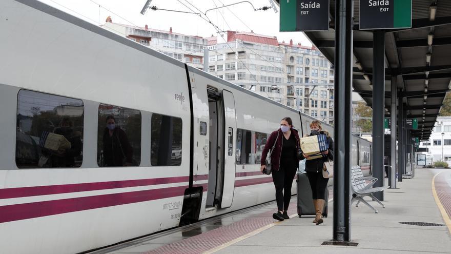 El nuevo Alvia de Pontevedra deja a Vigo como la urbe del Eje con el tren más lento a Madrid