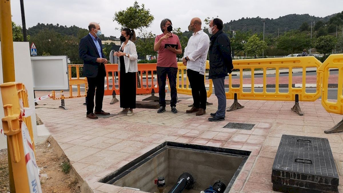 La Vall mejora en la Moleta el suministro de agua potable