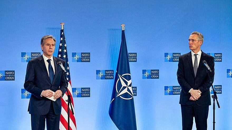 Els EUA i l'OTAN pacten una sortida coordinada