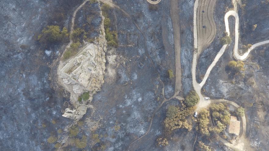 Crida per recollir fotos de l'incendi de la Conca de Barberà i l'Anoia