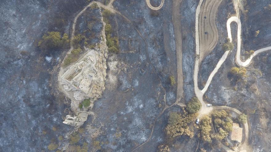 La Diputació assumirà els costos dels danys materials de l'incendi a l'Anoia