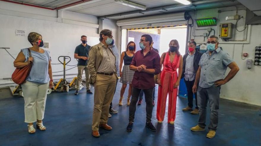 Salvador Illa elogia la reconversió del sector pesquer de Palamós