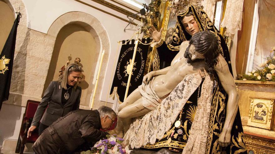 La cofradía de Nuestra Madre de las Angustias de Zamora convoca elecciones a la presidencia