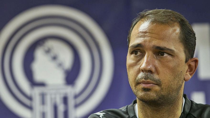 Alejandro Esteve: «El Hércules tiene que dar un paso más en ataque, pero sin volvernos locos»