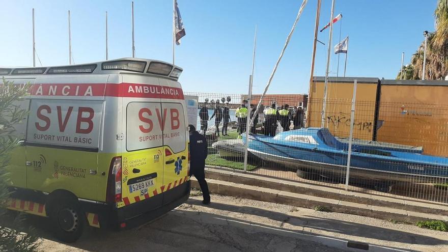 Encuentra el cadáver de un hombre entre unas barcas en el puerto de Benicarló