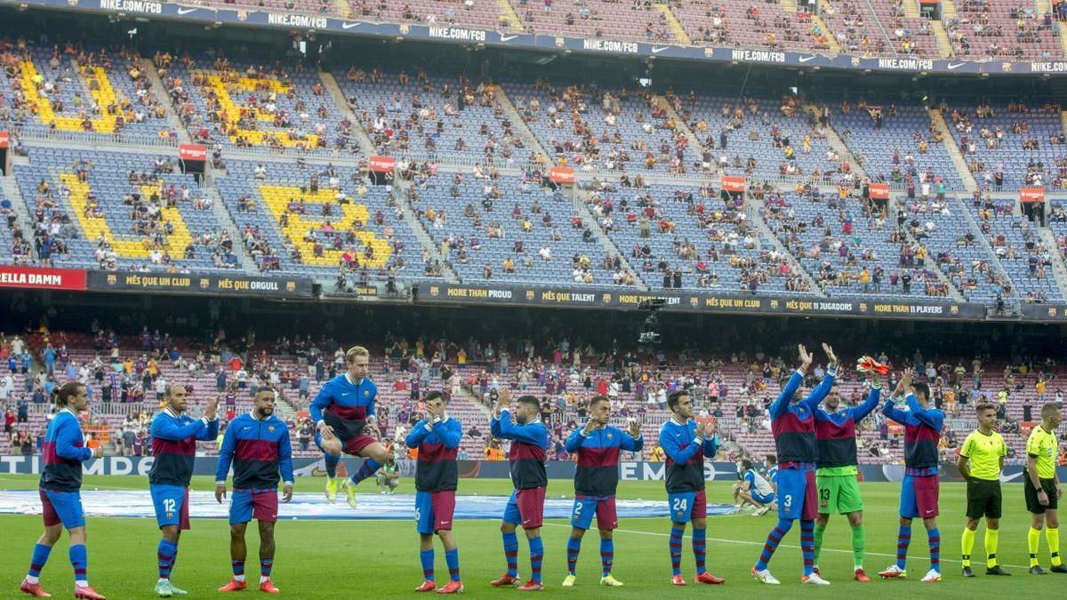 Equipo titular del FC Barcelona para el partido de liga de la primera jornada contra la Real Sociedad.