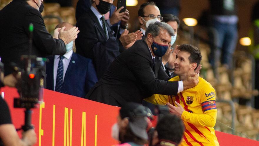 Messi aún no ha llegado a un acuerdo con el Barça