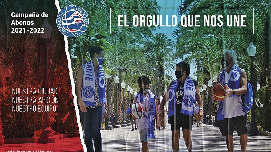 «El orgullo que nos une», lema de la campaña de abonos del HLA Alicante