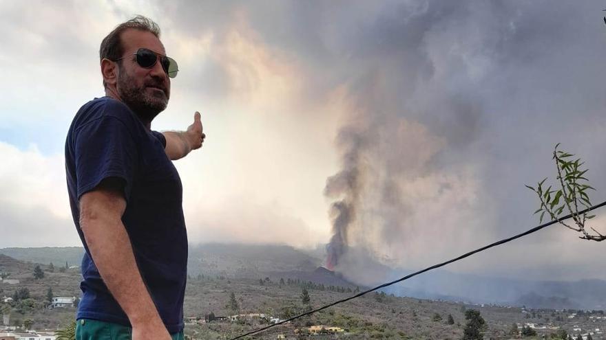 Extremeños en La Palma: entre la incertidumbre y el asombro