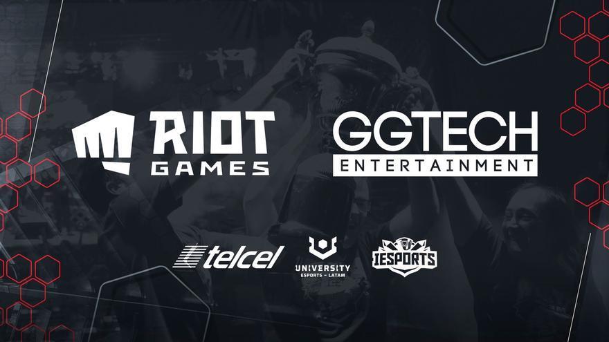 GGTech Latam y Riot Games anuncian University Esports e IESports