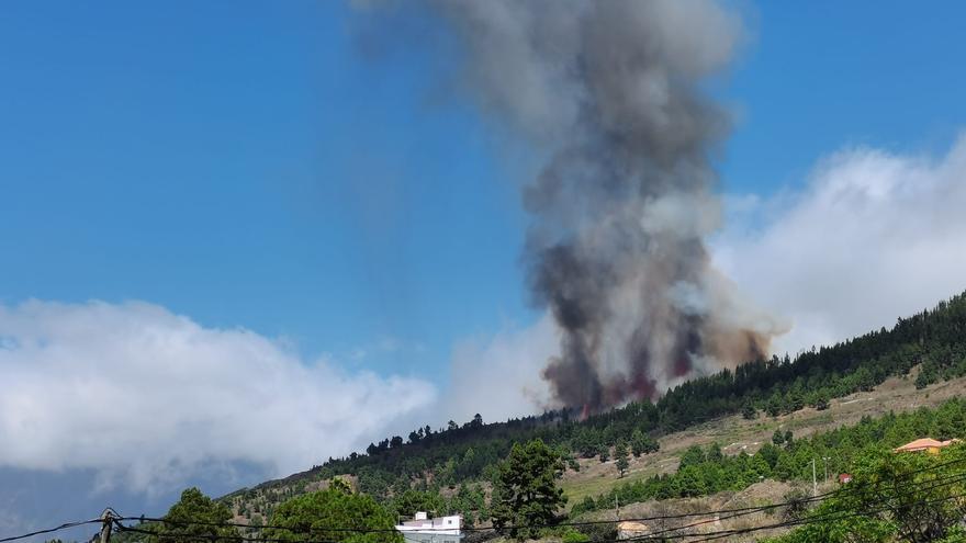 Así es la erupción en La Palma