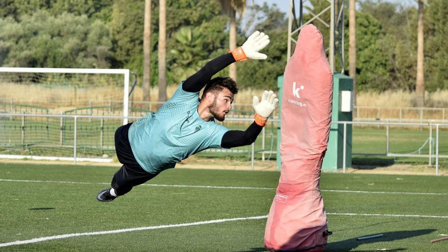 El Córdoba CF, con el foco colocado en la portería