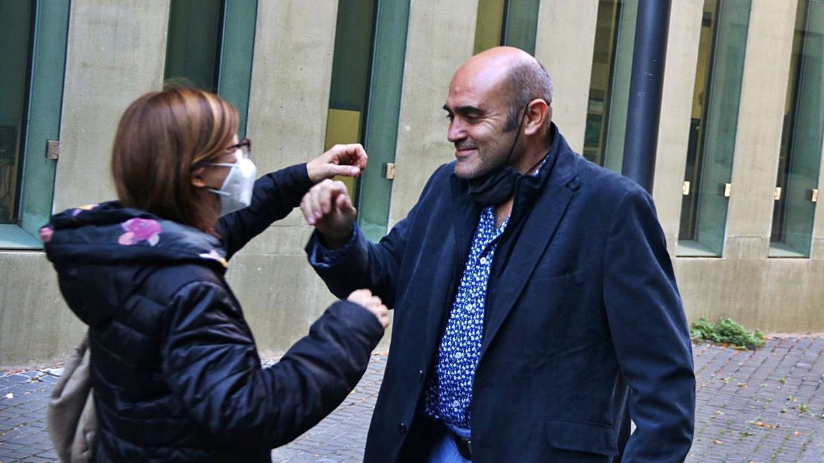 L'exconseller d'ERC Xavier Vendrell | ARXIU/TONI ALBIR/EFE