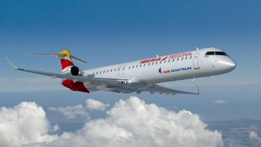 Air Nostrum adelanta a este miércoles los vuelos de València a Baleares